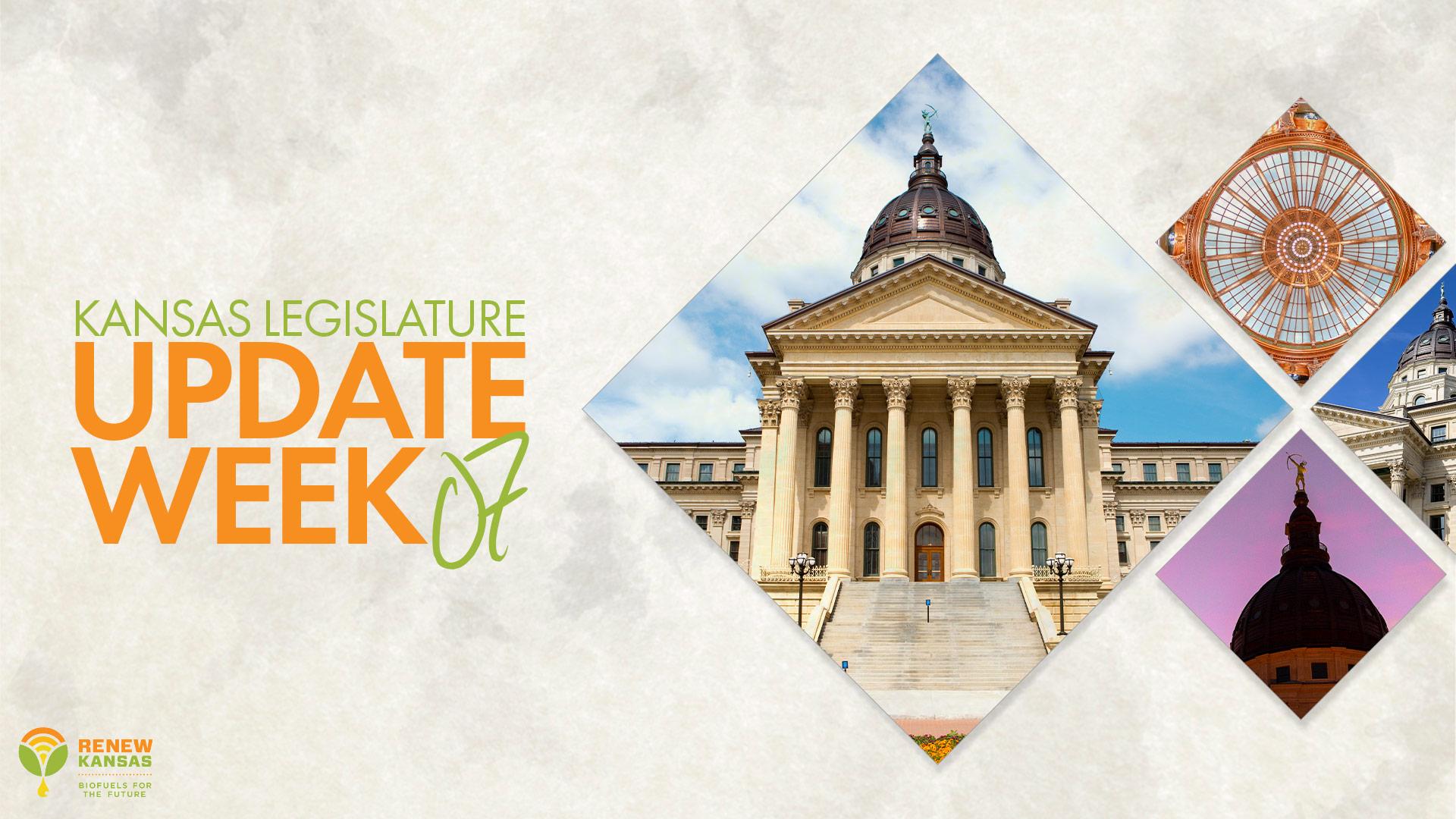 Kansas Legislature Update Week Seven